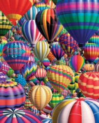 Jigsaw Puzzles - Hot Air Balloons