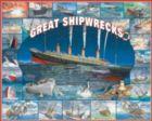 Great Shipwrecks - 1000pc Jigsaw Puzzle by White Mountain