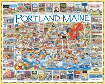 Portland, ME - 1000pc Jigsaw Puzzle by White Mountain