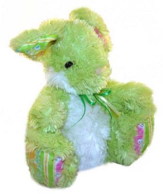 Mint Blossom Bunny - 9'' Rabbit By Douglas Cuddle Toys