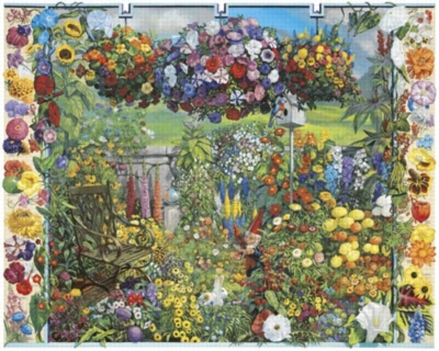 Annual Flowers - 1000pc Jigsaw Puzzle by White Mountain