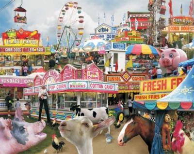 Jigsaw Puzzles - Country Fair