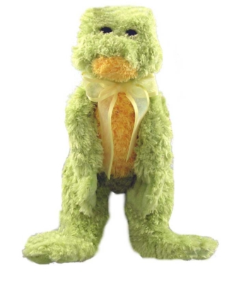 Lemon N'Lime Frog - 14'' Frog By Douglas Cuddle Toys