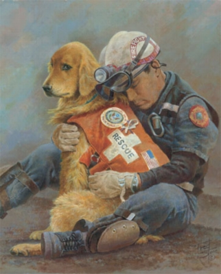 Honoring Fallen Firefighters - 1000pc Jigsaw Puzzle by White Mountain