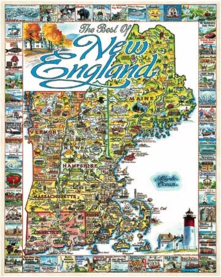 Best of New England - 1000pc Jigsaw Puzzle By White Mountain