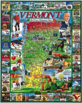Best of Vermont - 1000pc Jigsaw Puzzle By White Mountain