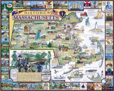 Jigsaw Puzzles - Historic Massachusetts