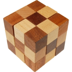 Wooden Assembly Puzzles - Soma Cube Premium
