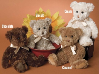 "Chocolate Fuzzy - 9"" Bear By Douglas Cuddle Toys"