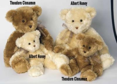 Theodore Cinnamon - 22'' Bear By Douglas Cuddle Toys