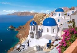 Jigsaw Puzzles - Santorini, Greece