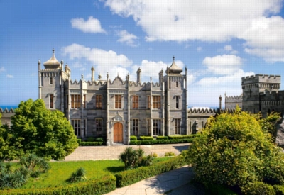 Vorontsov Palace, Crimea - 500pc Jigsaw Puzzle by Castorland