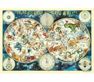 Celestial Planisphere - 2000pc Jigsaw Puzzle By Clementoni