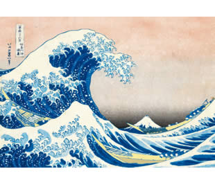 Hokusal Wave - 1000pc Jigsaw Puzzle By Clementoni