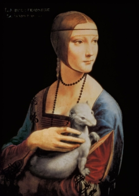 Da Vinci: Lady with an Ermine - 1000pc Jigsaw Puzzle By Clementoni
