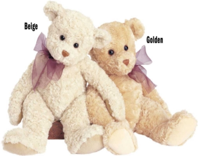 Tender Teddy Golden - 12'' Bear By Douglas Cuddle Toys