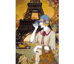 Paris Adventures - 1000pc Jigsaw Puzzle By Clementoni