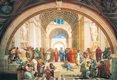 School of Athens - 1000pc Jigsaw Puzzle By Clementoni