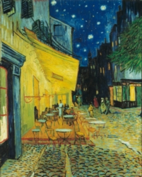 Hard Jigsaw Puzzles - Cafe Terrace at Night