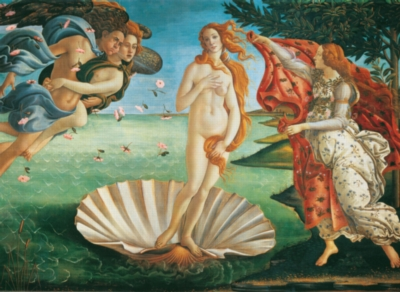Hard Jigsaw Puzzles - Birth of Venus