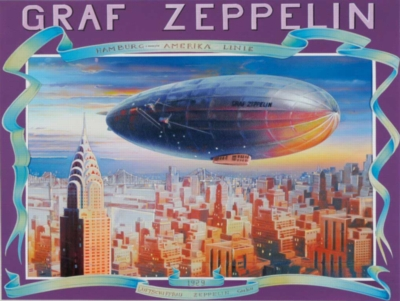 Zeppelin - 1000pc Jigsaw Puzzle By Clementoni