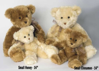 "Small Honey - 14"" Bear By Douglas Cuddle Toys"