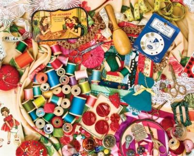 Sew Sweet - 1000pc Jigsaw Puzzle by Springbok