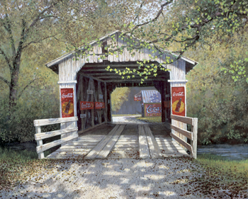 Coca-Cola Puzzles - The Covered Bridge