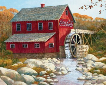 Coca-Cola Puzzles - The Old Grist Mill
