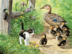 Spring Puzzles - Duck Inspector