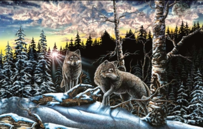 Wolves Puzzles - 15 Wolves