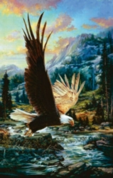 Eagle Sky - 1000pc Jigsaw Puzzle by Sunsout
