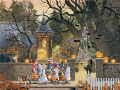Friends on Halloween