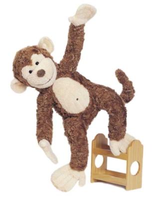 Mo Floppy - 15'' Monkey By Douglas Cuddle Toys