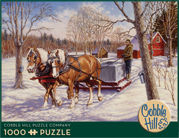 Collecting the Sap - 1000pc Jigsaw Puzzle by Cobble Hill