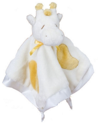 Yellow Giraffe - 13'' Lil'' Snuggler by Douglas Cuddle Toys