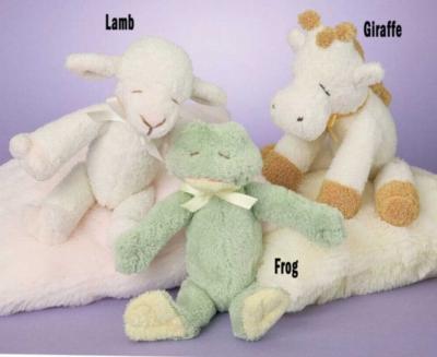 Lamb - 10'' Rattle By Douglas Cuddle Toys