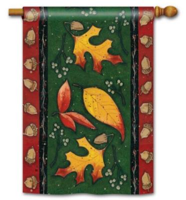 Leaf Toss- Standard Flag by Magnet Works