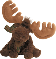 "Graham Jr. - 6"" Moose by Gund"