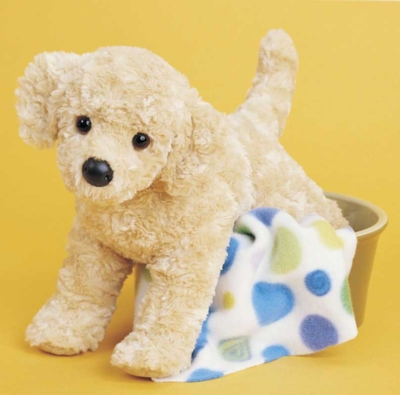 """Musical Charlie Puppy - 14"""" Dog By Douglas Cuddle Toys"""