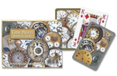 Time Pieces - Double Deck Playing Cards