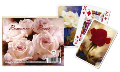 Romance & Roses - Double Deck Playing Cards