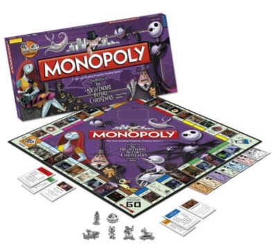 Monopoly: Nightmare Before Christmas Edition - Board Game
