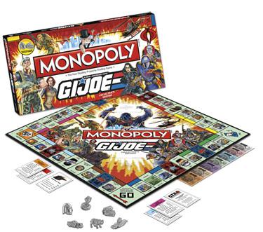 Monopoly: GI Joe Edition - Board Game