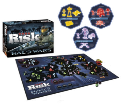 Risk: Halo Wars Edition - Board Game