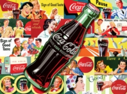 Jigsaw Puzzles - Coke Is It!