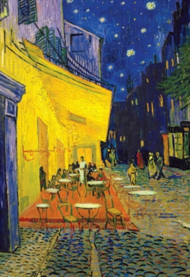 Van Gogh: Cafe Terrace - 2000pc Jigsaw Puzzle by Buffalo Games