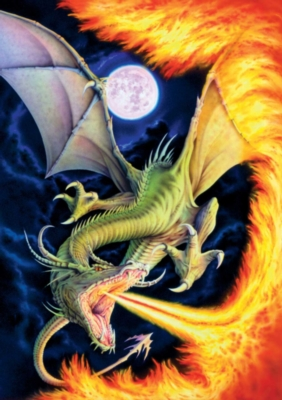 Dragon of Fire - 500pc Jigsaw Puzzle by Buffalo Games