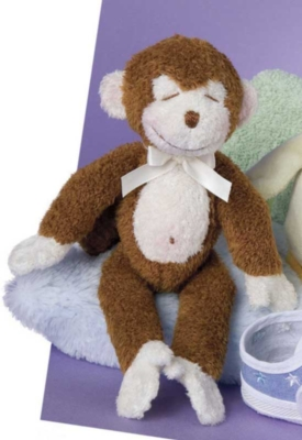 Monkey - 10'' Rattle By Douglas Cuddle Toys