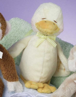 Duck - 10'' Rattle By Douglas Cuddle Toys